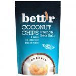 Chips de cocos cu sare bio 70g Bettr