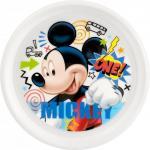 Farfurie plastic Mickey Doodle Lulabi 8310101