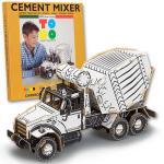 Joc creativ 3D Ciment Mixer