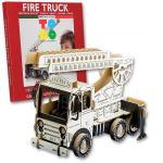 Joc creativ 3D Fire Truck