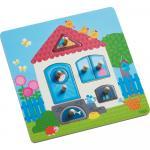 Joc tip puzzle Haba Casa mea 7 piese 12luni+