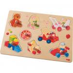 Joc tip puzzle Haba Primele mele jucarii 8 piese 12luni+