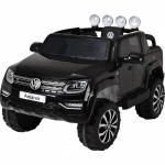 Masinuta electrica cu roti eva si telecomanda 2.4 G VW Amarok Negru