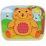 Puzzle din lemn Sun Baby Ursulet