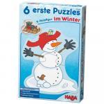 Set 6 puzzle Haba Winter Fun