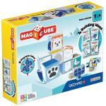 Set Constructie Magnetic Magicube Animale Polare