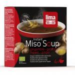 Supa Miso instant cu ghimbir bio 4x15g