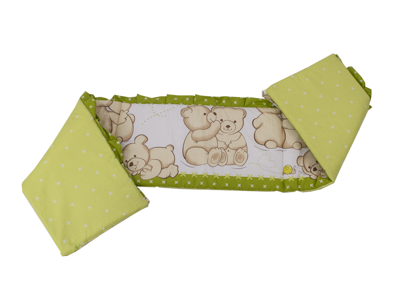 Aparatoare laterala Teddy Friends Verde M1 120x60