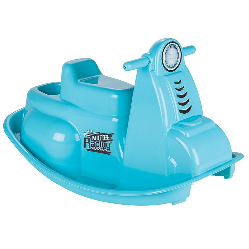 Balansoar pentru copii Rocking Moto Blue