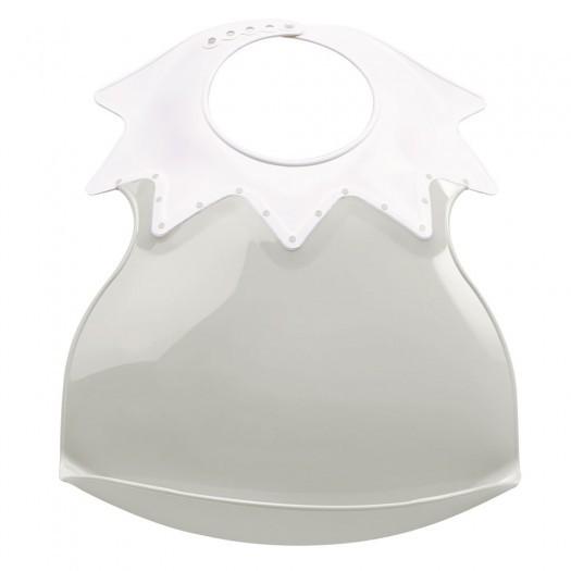Baveta bebe ultra-soft ARLEQUIN Thermobaby Agate Grey