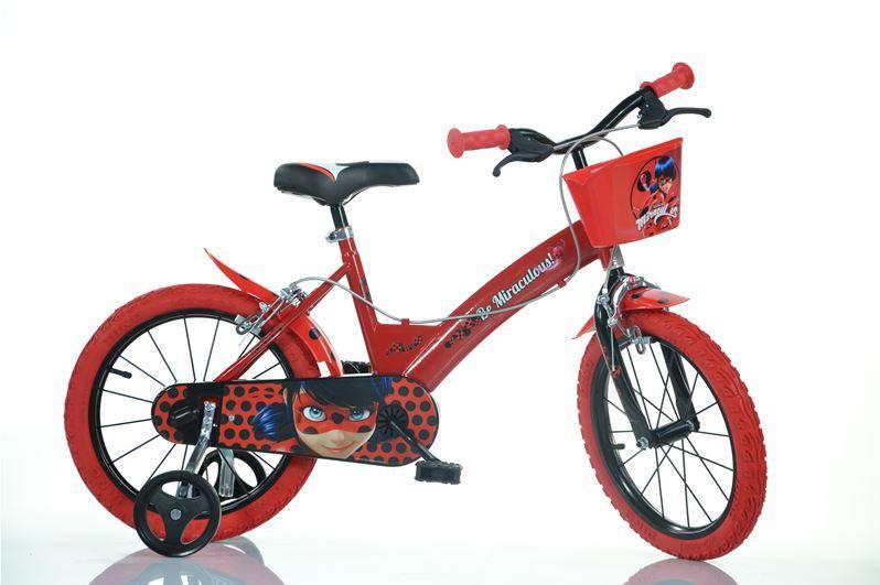 Bicicleta copii 16 MIRACULOS-BUBURUZA