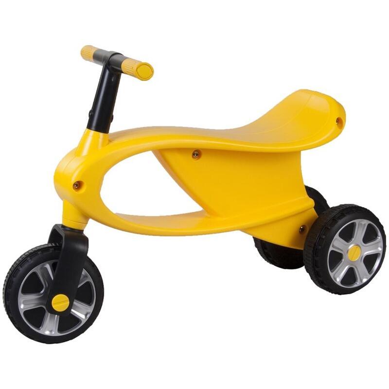 Bicicleta fara pedale cu 3 roti Gogo Galben