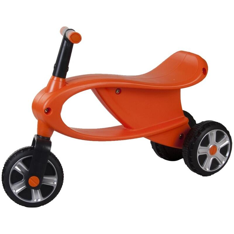 Bicicleta fara pedale cu 3 roti Gogo Portocaliu