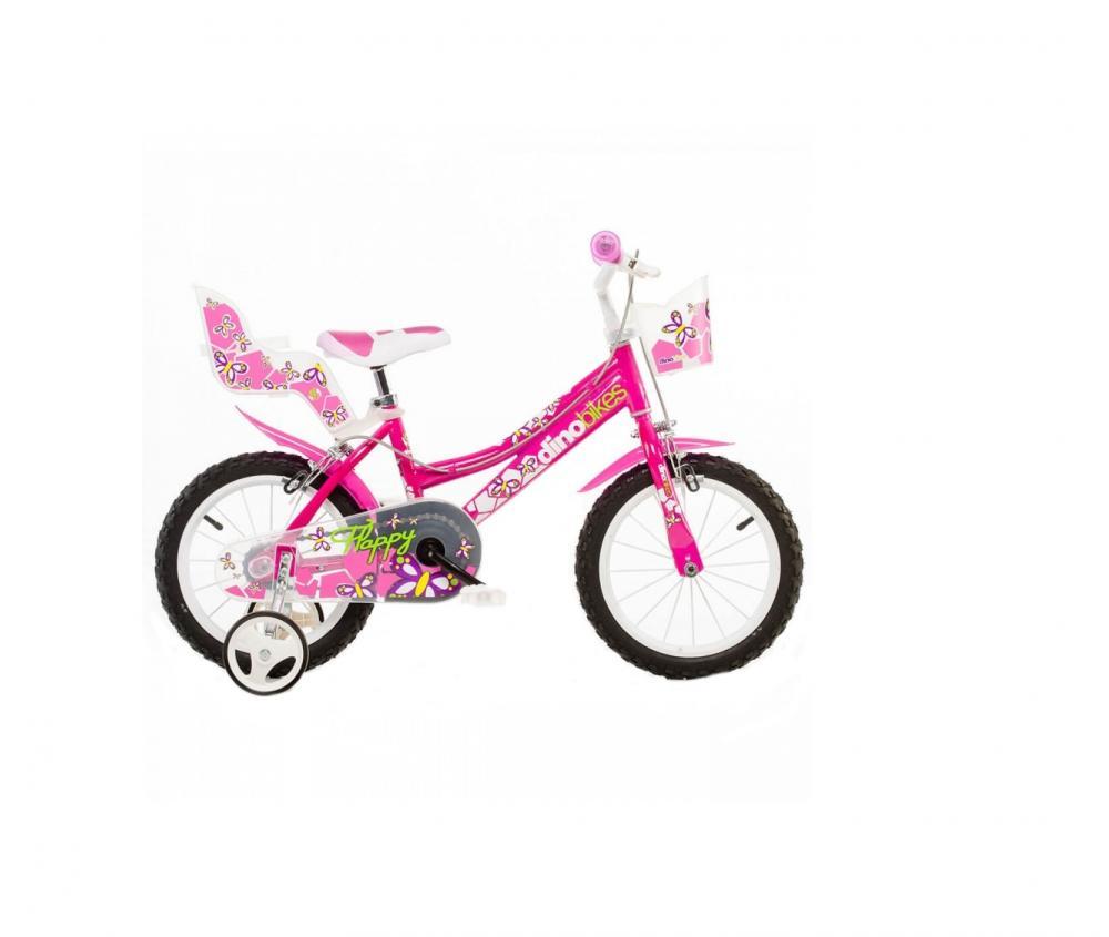 Bicicleta pentru fetite cu diametru 16 inch 166 RN