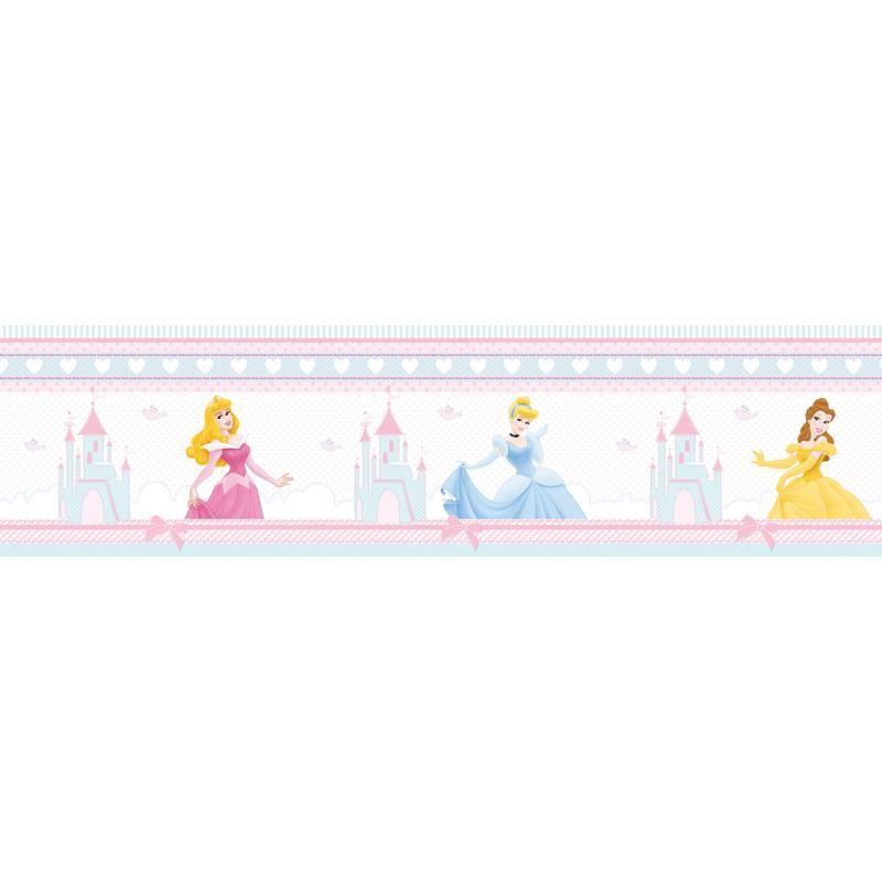 Bordura autoadeziva perete 5m Princess