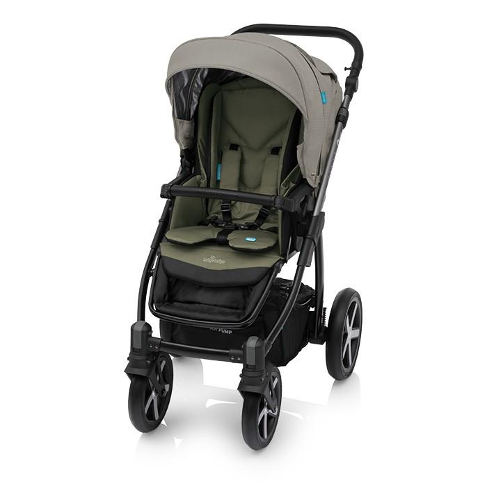 Carucior 2 in 1 Baby Design Husky Winter Pack 04 Olive 2018