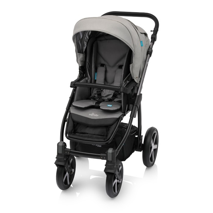Carucior 2 in 1 Baby Design Husky Winter Pack 07 Grey 2018