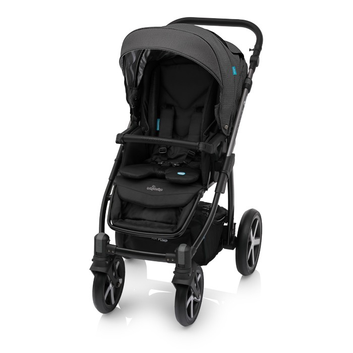 Carucior 2 in 1 Baby Design Husky Winter Pack 10 Black 2018