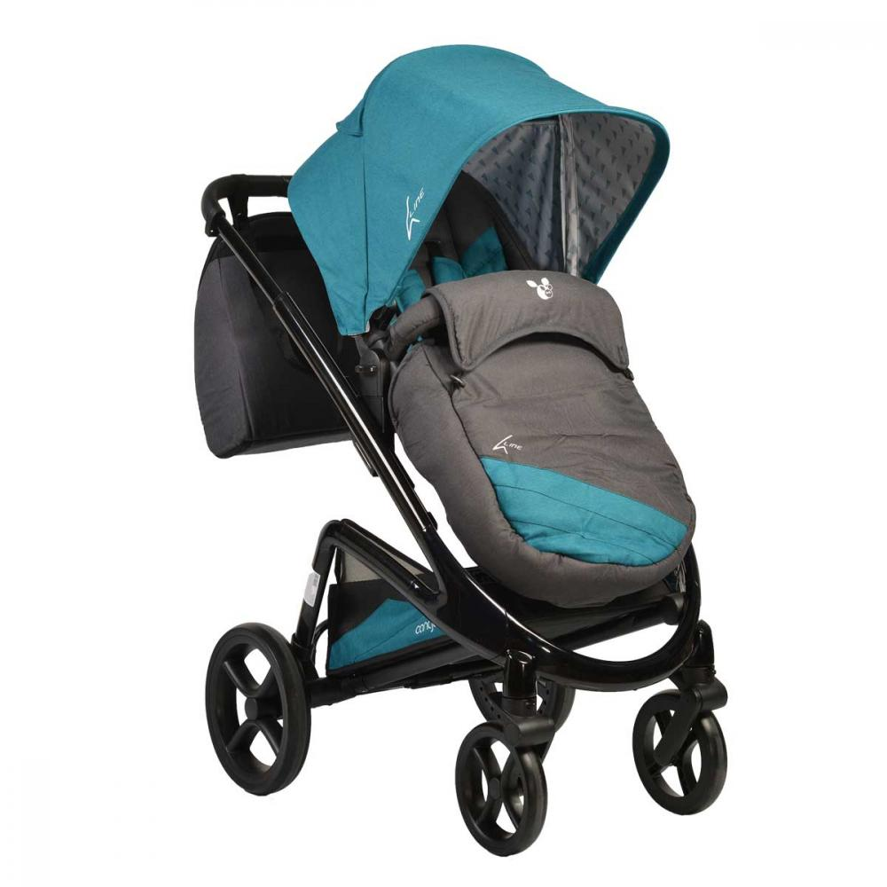 Carucior 2 in 1 Cangaroo S-Line Teal