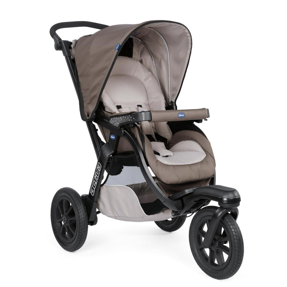 Carucior Chicco Trio Activ3 Car Kit 0+luni Dove Grey