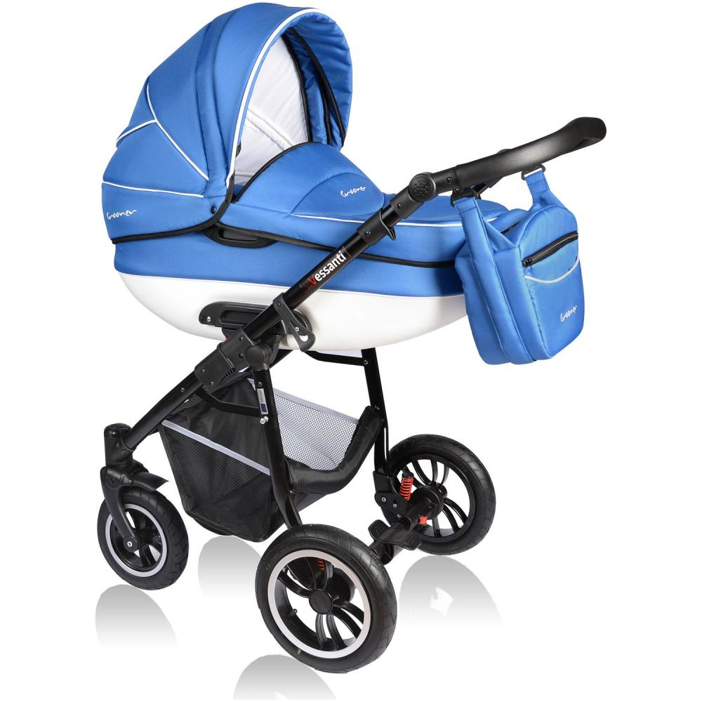 Carucior Crooner 2 in 1 Vessanti Blue
