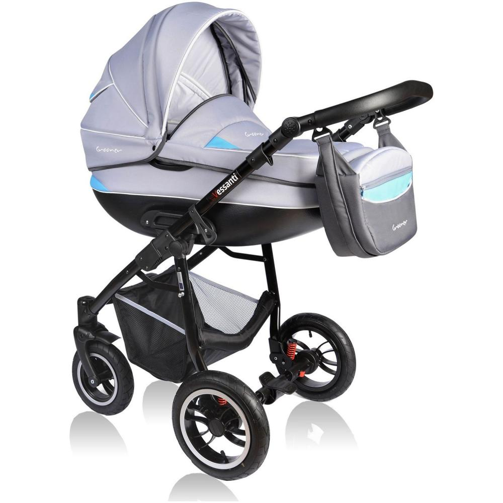 Carucior Crooner 2 in 1 Vessanti BlueGray