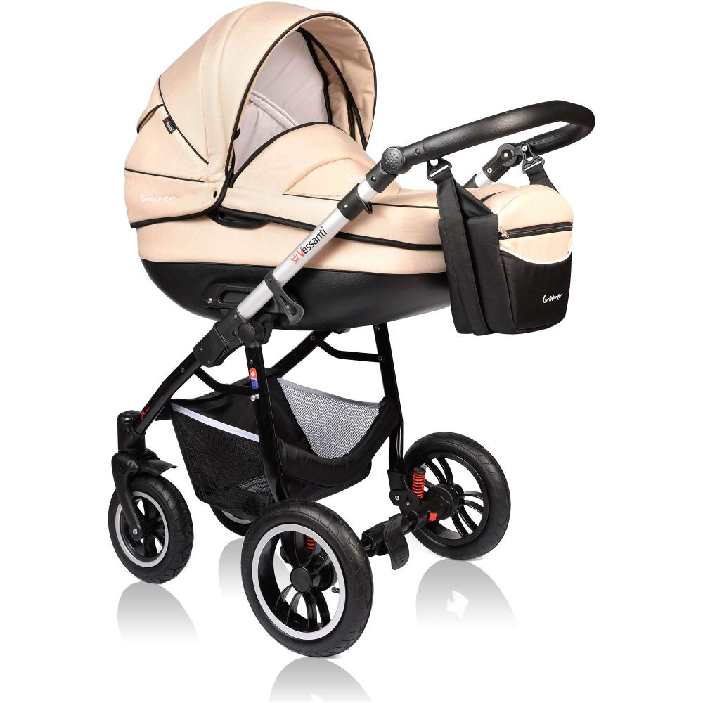 Carucior Crooner Prestige 3 in 1 Vessanti Cream