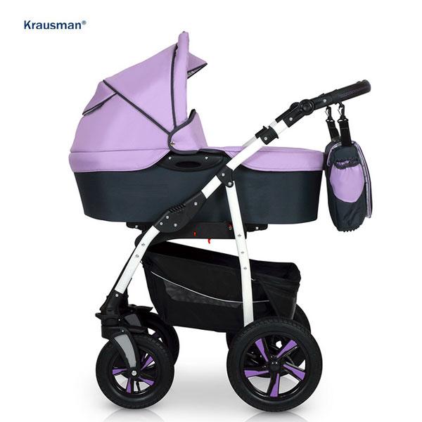 Carucior Kraus Clasic Light Purple