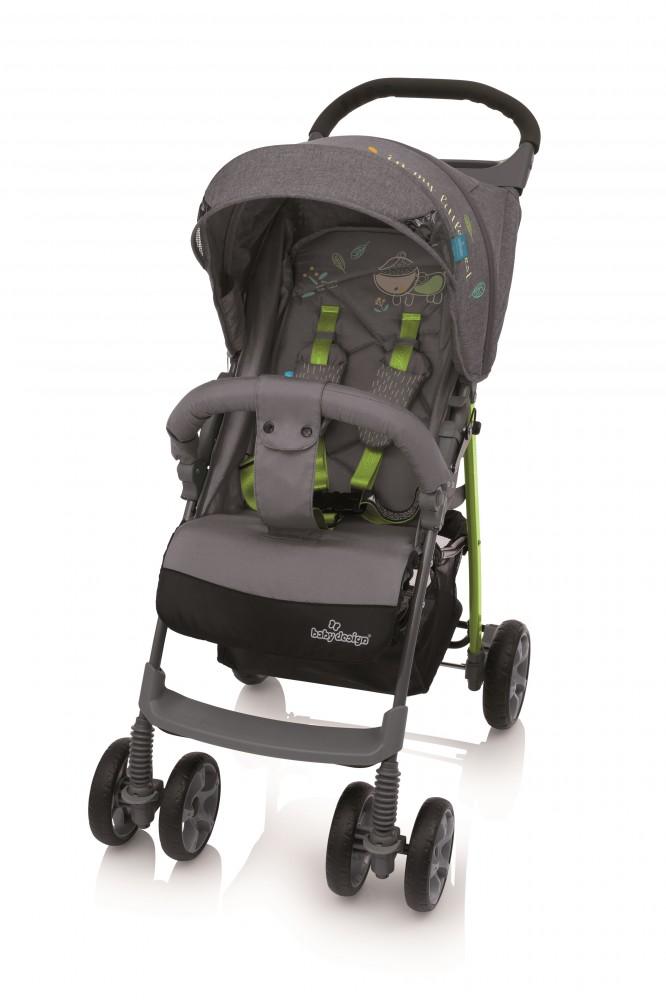 BABY DESIGN Carucior sport Baby Design Mini Grey 2018