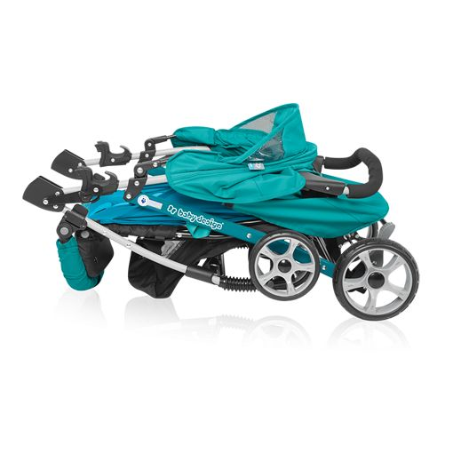 Carucior sport Baby Design Mini Grey 2018 imagine