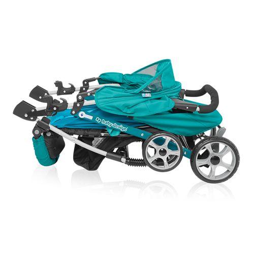 Carucior sport Baby Design Mini Turquoise 2018
