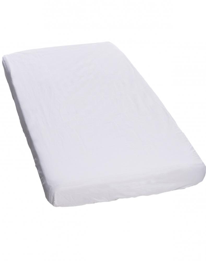 Cearceaf Premium din frotir cu elastic 140x70 cm White 01