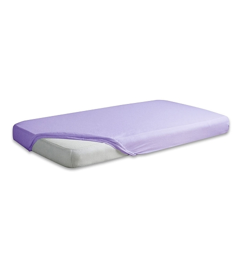 Cearceaf Flanel Din Bumbac Cu Elastic 140x70 Cm Purple 19