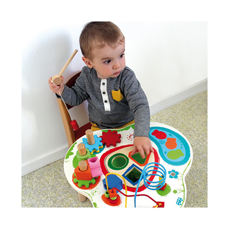 Centru de joaca din lemn Big Activity Table