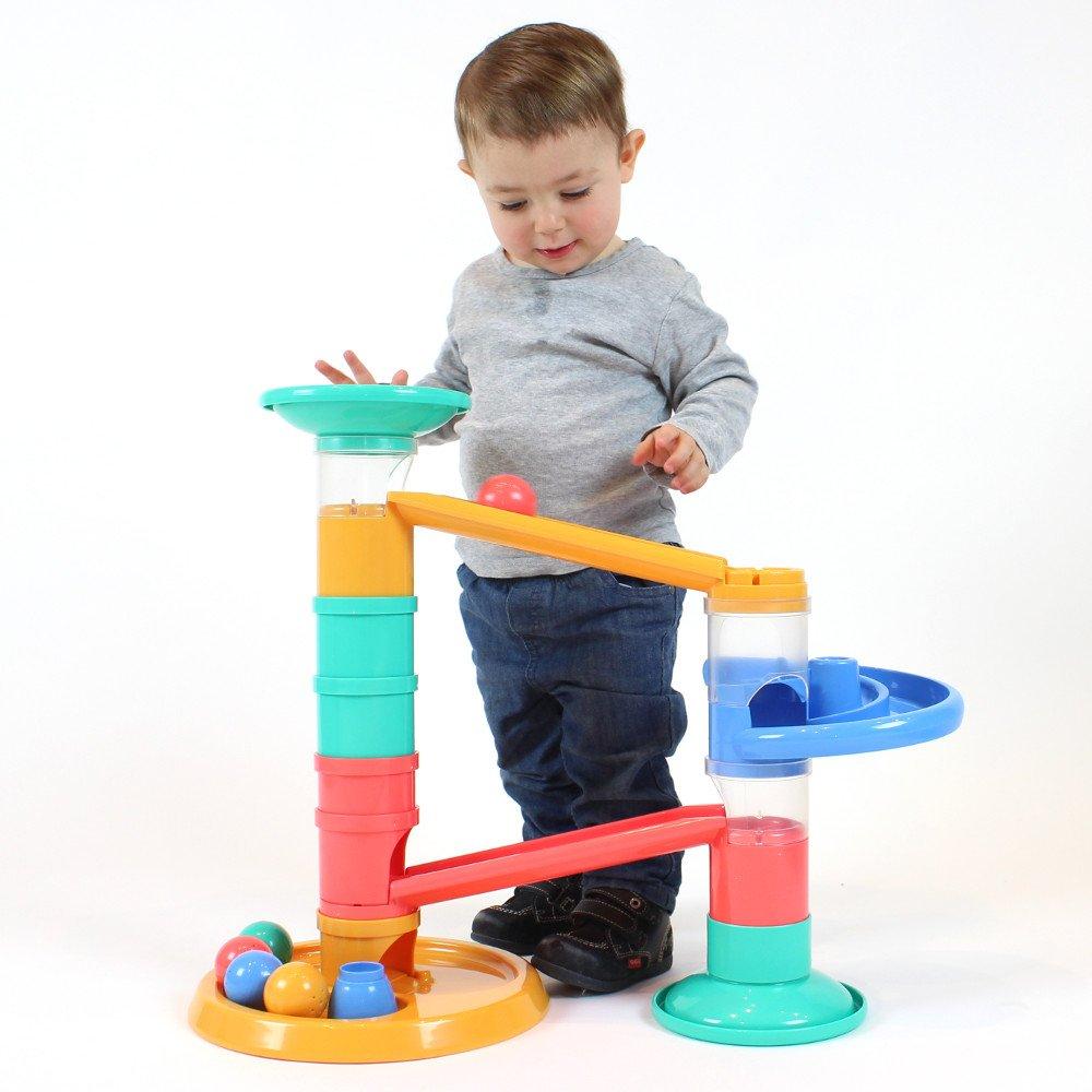 Circuit gigant de activitati cu bile pentru cei mai mici