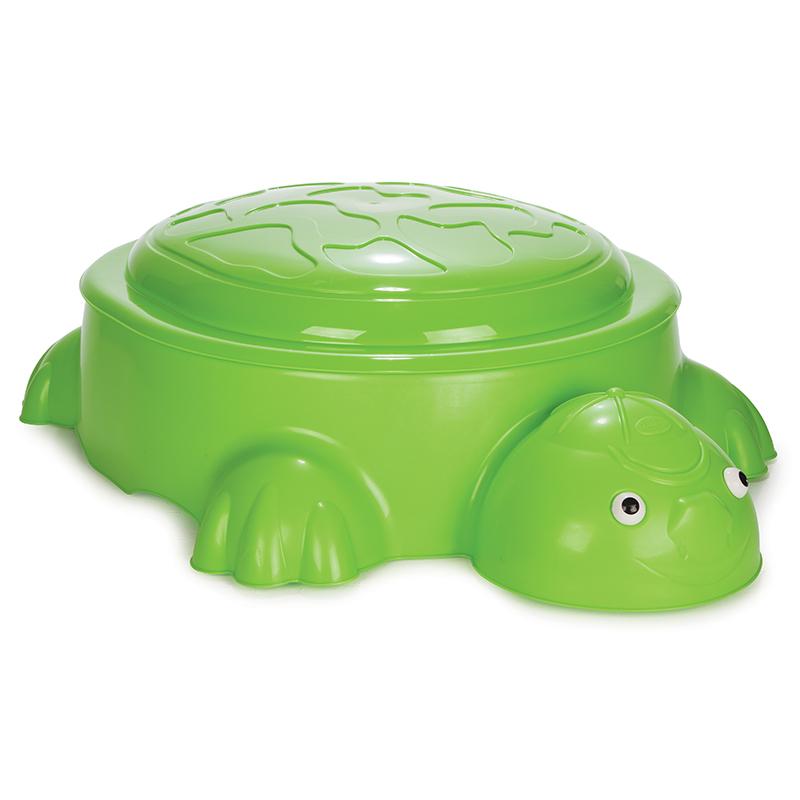 Cutie de nisip Turtle Light Green