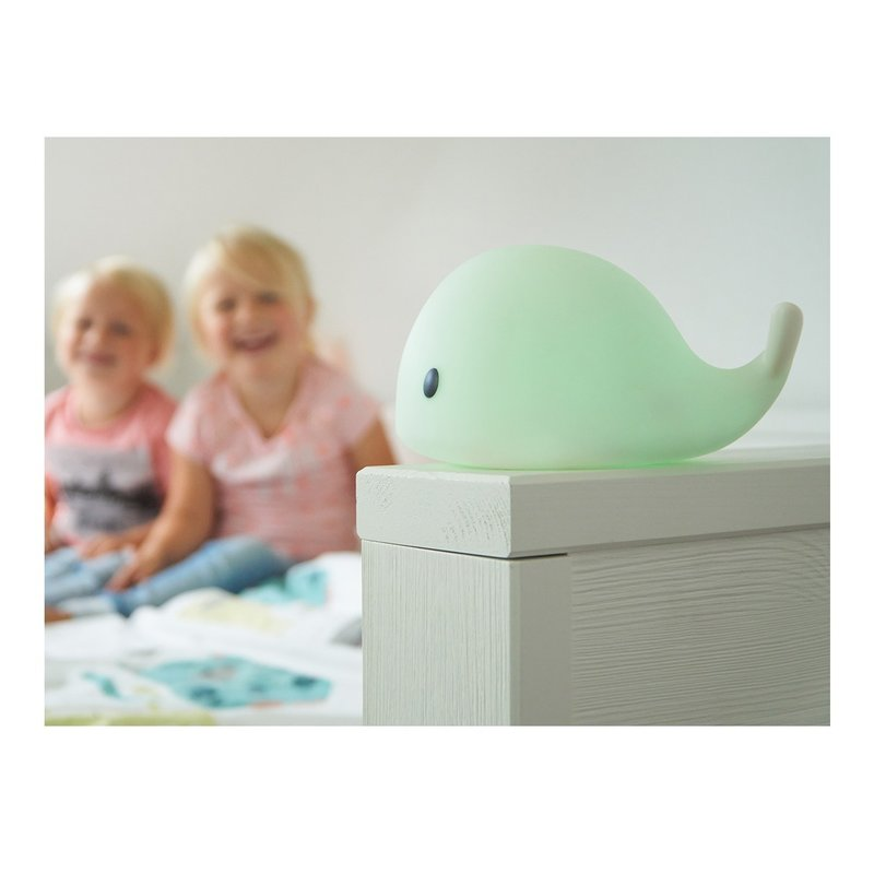 Lampa de veghe cu LED Balena Little Moby