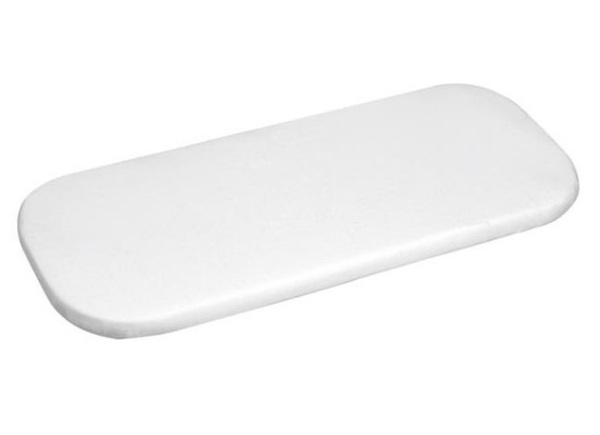 Husa pentru saltea carucior Frotir 90x40 cm White 01