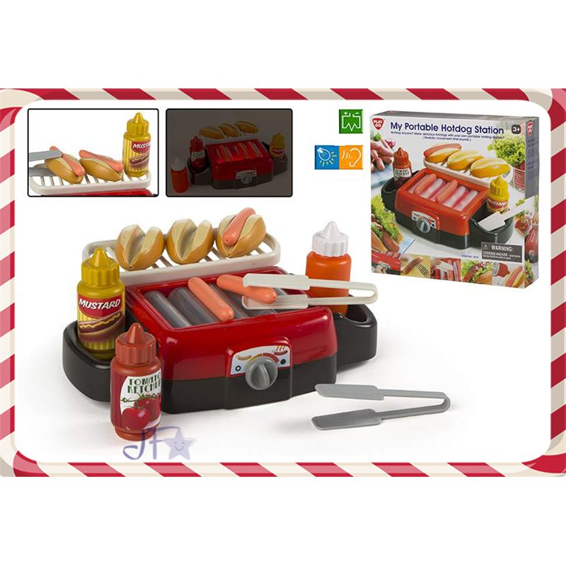 Jucarie masina de gatit hotdog