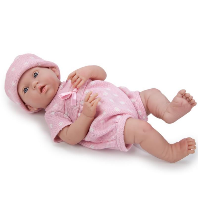Jucarie papusa bebe-fetita in costumas de vara