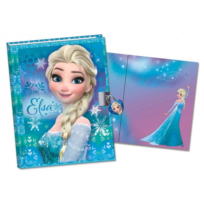 Jurnal 3D cu lacatel Frozen Elsa