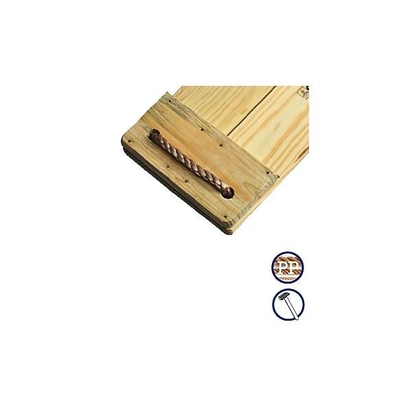 Leagan simplu cu sezut din lemn KBT