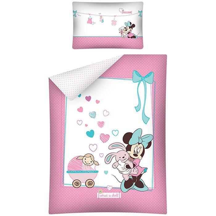 Lenjerie de pat Minnie Mouse STC15A 100x135 cm
