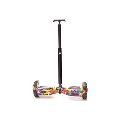 Maner Hoverboard Stick FreeWheel Assistant 110 Telescopic Negru