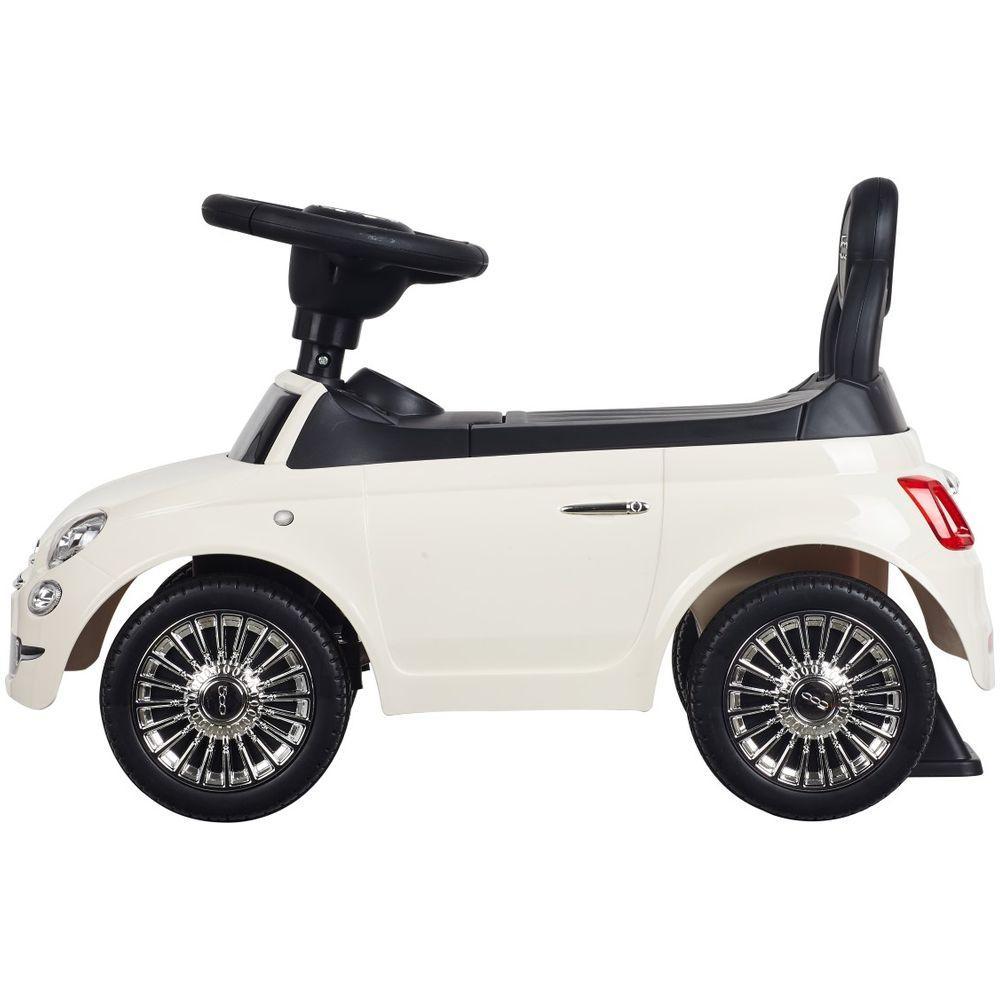 Masinuta fara pedale Fiat 500 Alb