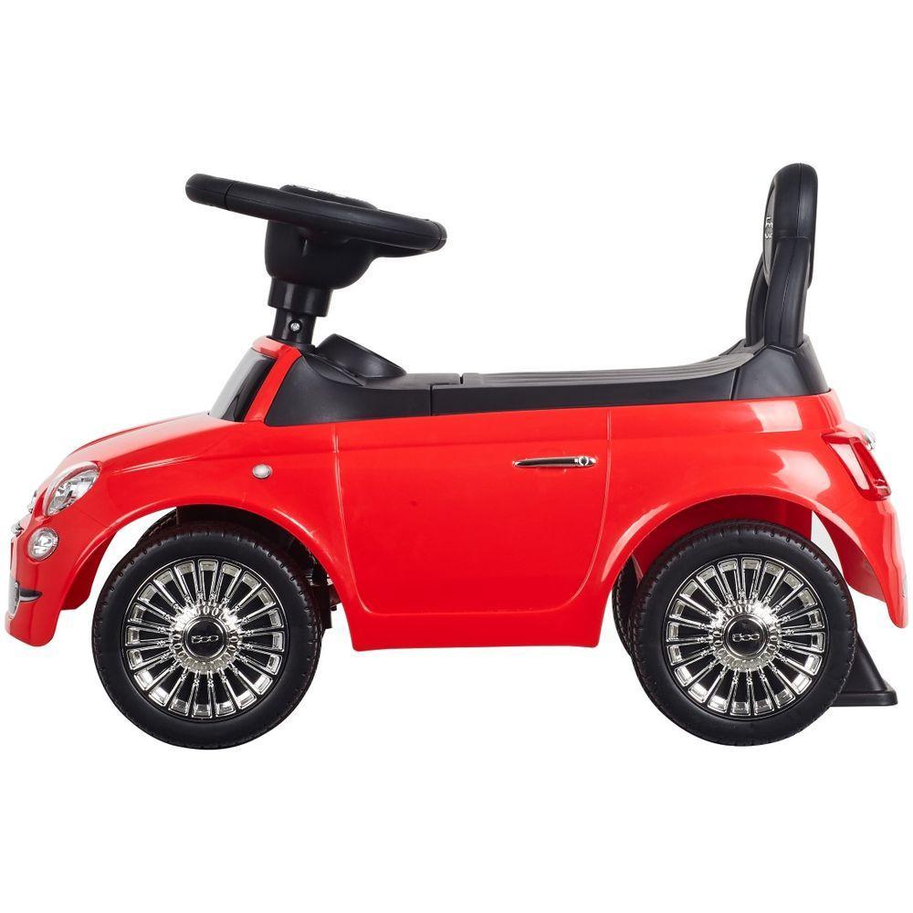 Masinuta fara pedale Fiat 500 Rosu