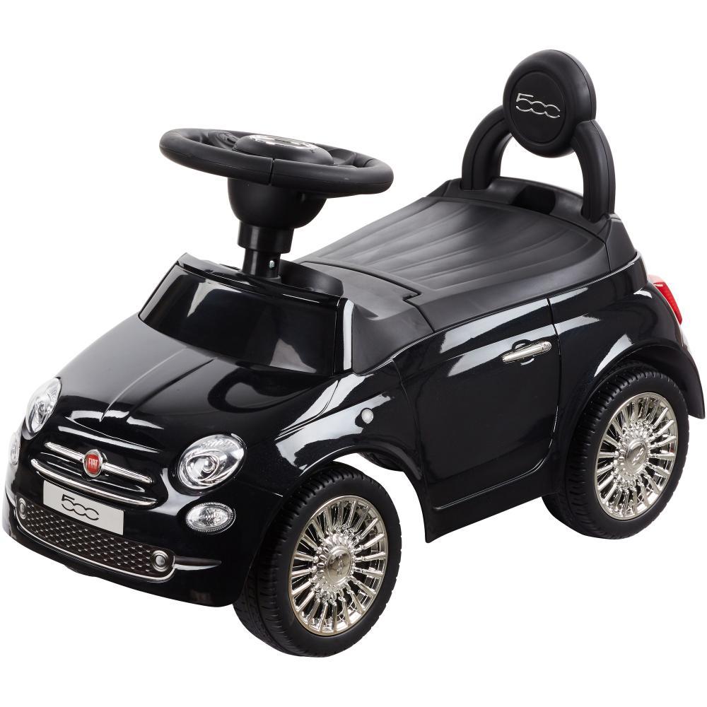 Masinuta fara pedale Fiat 500 Vip Edition Negru