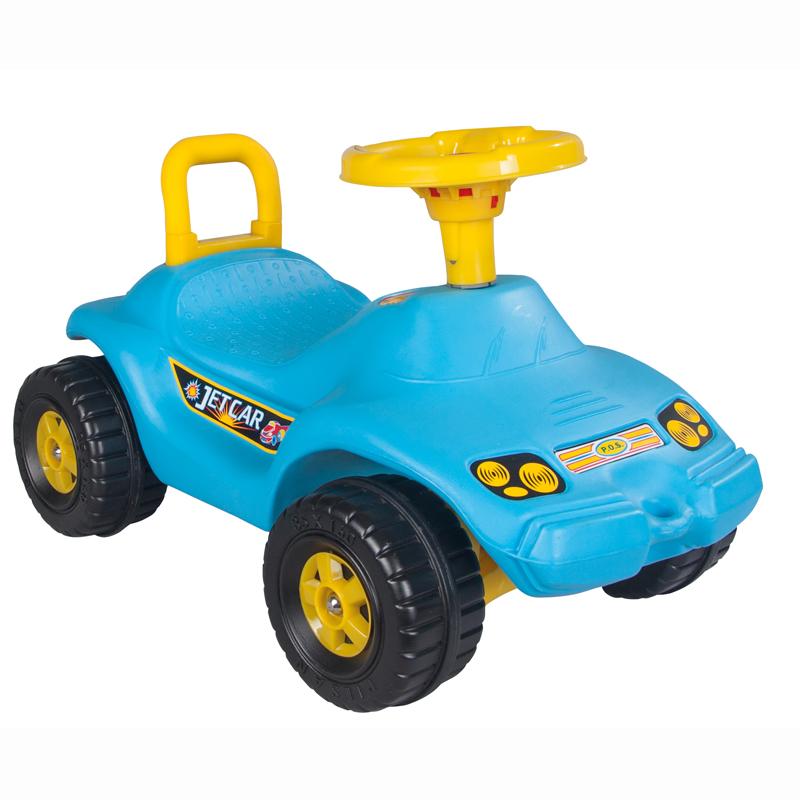 Masinuta fara pedale Jet Car Blue