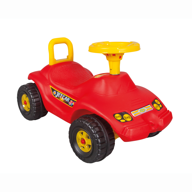 Masinuta fara pedale Jet Car Red