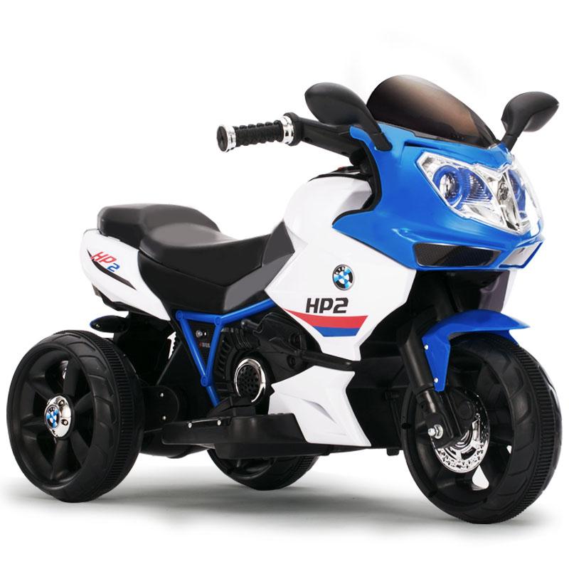 Motocicleta electrica copii Racer 6187 Blue